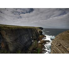 Loop Head Cliffs Photographic Print
