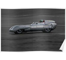 1958 Lotus XI Poster