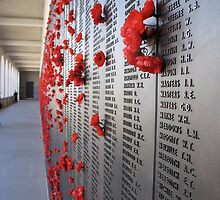 Roll of Honour at the AWM Canberra by mensoart