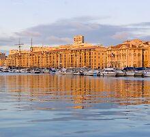 Marseille Vieux Port by Soumya Mitra