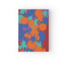 Splat Test Hardcover Journal