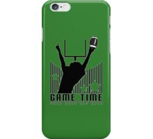Game Time - Football (Green) iPhone Case/Skin