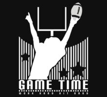 Game Time - Football (Black) Kids Clothes