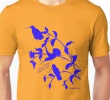 Blue long-billed starthroat Unisex T-Shirt