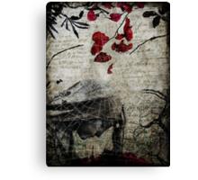 Rain of Rose Petals Canvas Print
