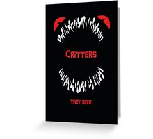 They Bite Greeting Card