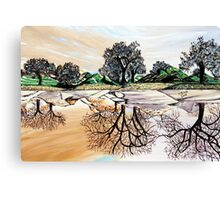 Imaginative Landscape Canvas Print