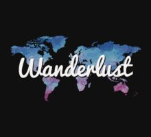 Wanderlust World Map by LookOutBelow