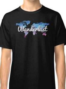 Wanderlust World Map Classic T-Shirt