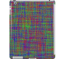 The mix of Red, Green, Blue lines iPad Case/Skin