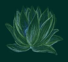 Green Lotus by Rebecca Tripp