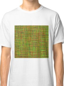 Colormix: Yellow and Green Classic T-Shirt