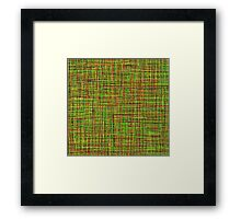 Colormix: Yellow and Green Framed Print