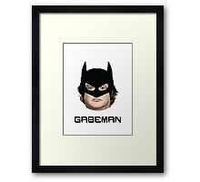 The (real) Dark Knight rises! Framed Print