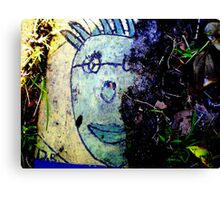 Art in the dirt Canvas Print