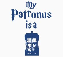 my patronus is a tardis by redtee