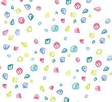 Gems by sloganart