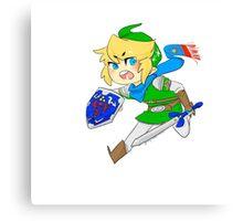 Link - Hero of Hyrule  Canvas Print
