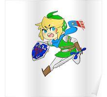 Link - Hero of Hyrule  Poster