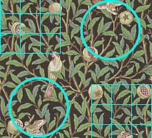 William Morris and Me Squares and Circles by PeopleInMyHead