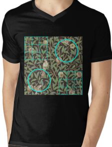 William Morris and Me Squares and Circles T-Shirt