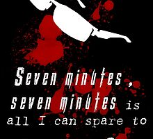 Seven Minutes , Wesker Quote by Tvrs01001