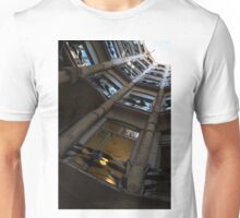 Whimsical, Intricate Antoni Gaudi Architecture  Unisex T-Shirt