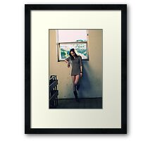 Part 2 : A story of a girl Framed Print