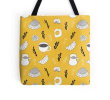 Yellow breakfast Tote Bag