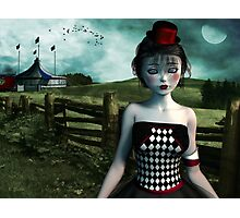 Leaving the circus Photographic Print