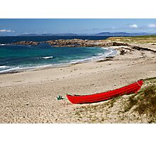 White sands of Iona Photographic Print