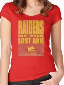 Raiders Of The Lost Ark Women's Fitted Scoop T-Shirt