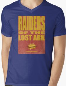 Raiders Of The Lost Ark Mens V-Neck T-Shirt
