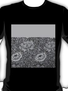 William Morris Black and White and Me T-Shirt
