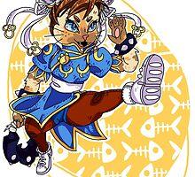 Monster Hunter Chun Li Skin by megtalgearsalad