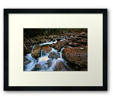 """Smoko Creek"" Framed Print"