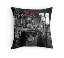 Engineers Compartment Throw Pillow