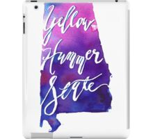 Alabama, the Yellowhammer State iPad Case/Skin
