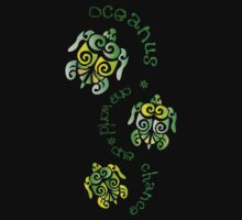 oceanus: turtles by Tamara Dourney