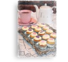Tea and Cakes Metal Print