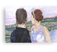 A Marriage made in LA Canvas Print