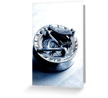 Golden Compass Greeting Card