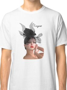 Vogue - fashion model Classic T-Shirt