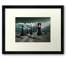 The Turn Framed Print