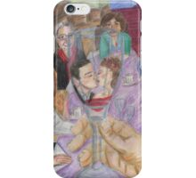 Reflections of a Wedding Day iPhone Case/Skin