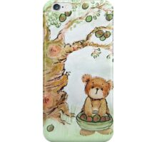 Harvest Bear - watercolour painting iPhone Case/Skin