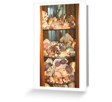 My Sea Treasures Collection Greeting Card