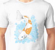Fish carp Koi - Orange Unisex T-Shirt