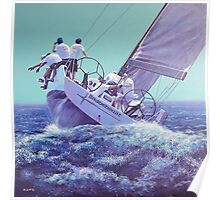 Braveheart Sailing Yacht Poster