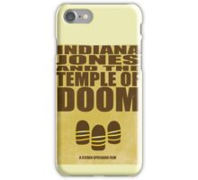 Indiana Jones and The Temple of Doom iPhone Case/Skin